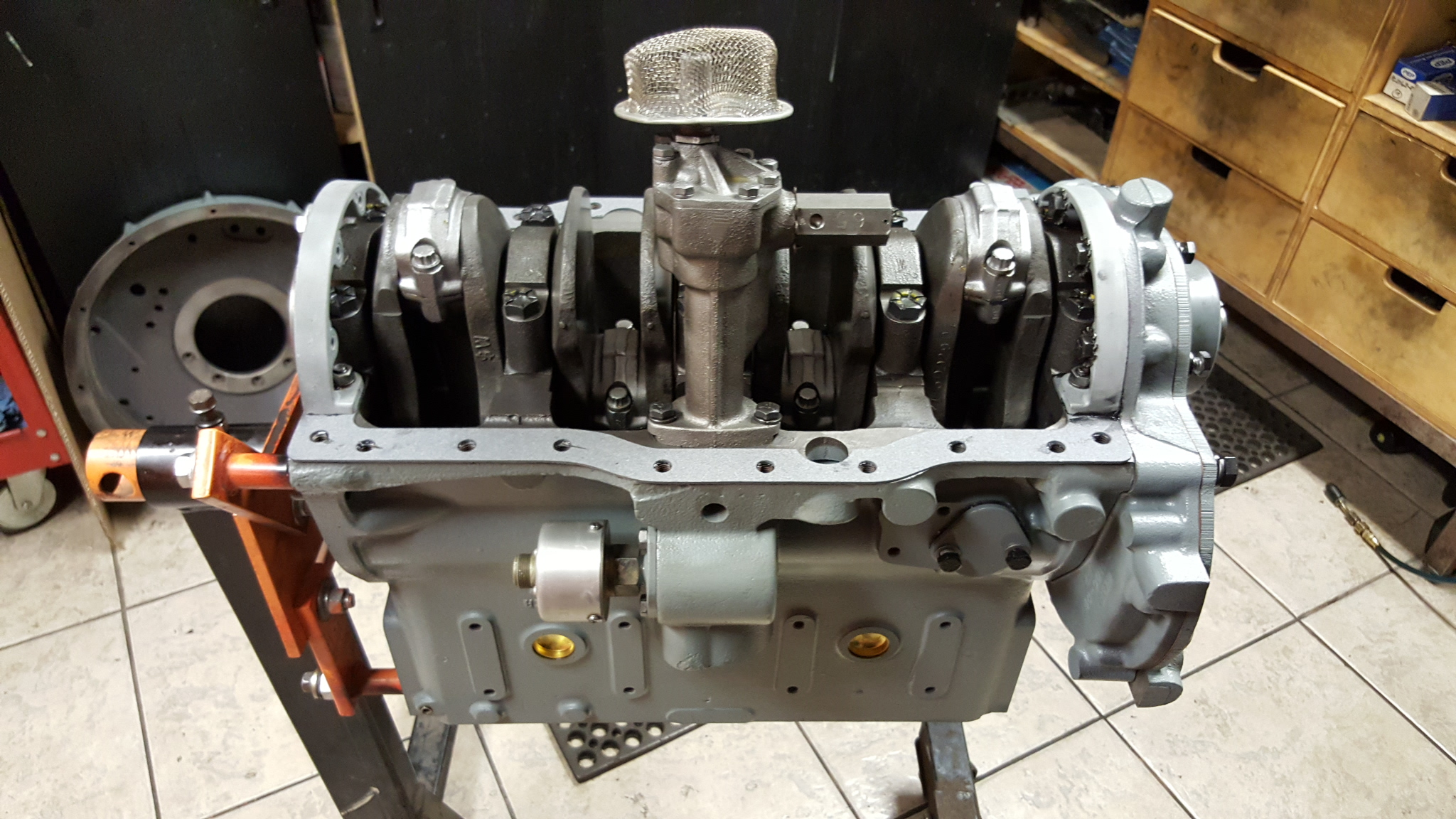 engine machine work