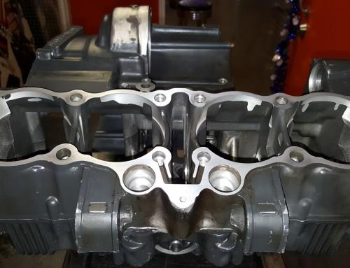 Suzuki GSXR Engine Cases Broken Tap Removal and Thread Repair