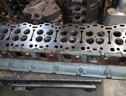 60-Series Detroit DDC Inline Six Cylinder Diesel Head Rebuilding and Repair