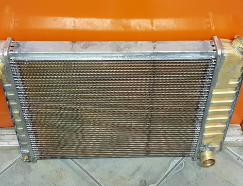 Custom Copper Brass High Efficiency 4-Row Radiator Builds For a 1969 Chevy Camaro and a 1964 Ford Ranchero