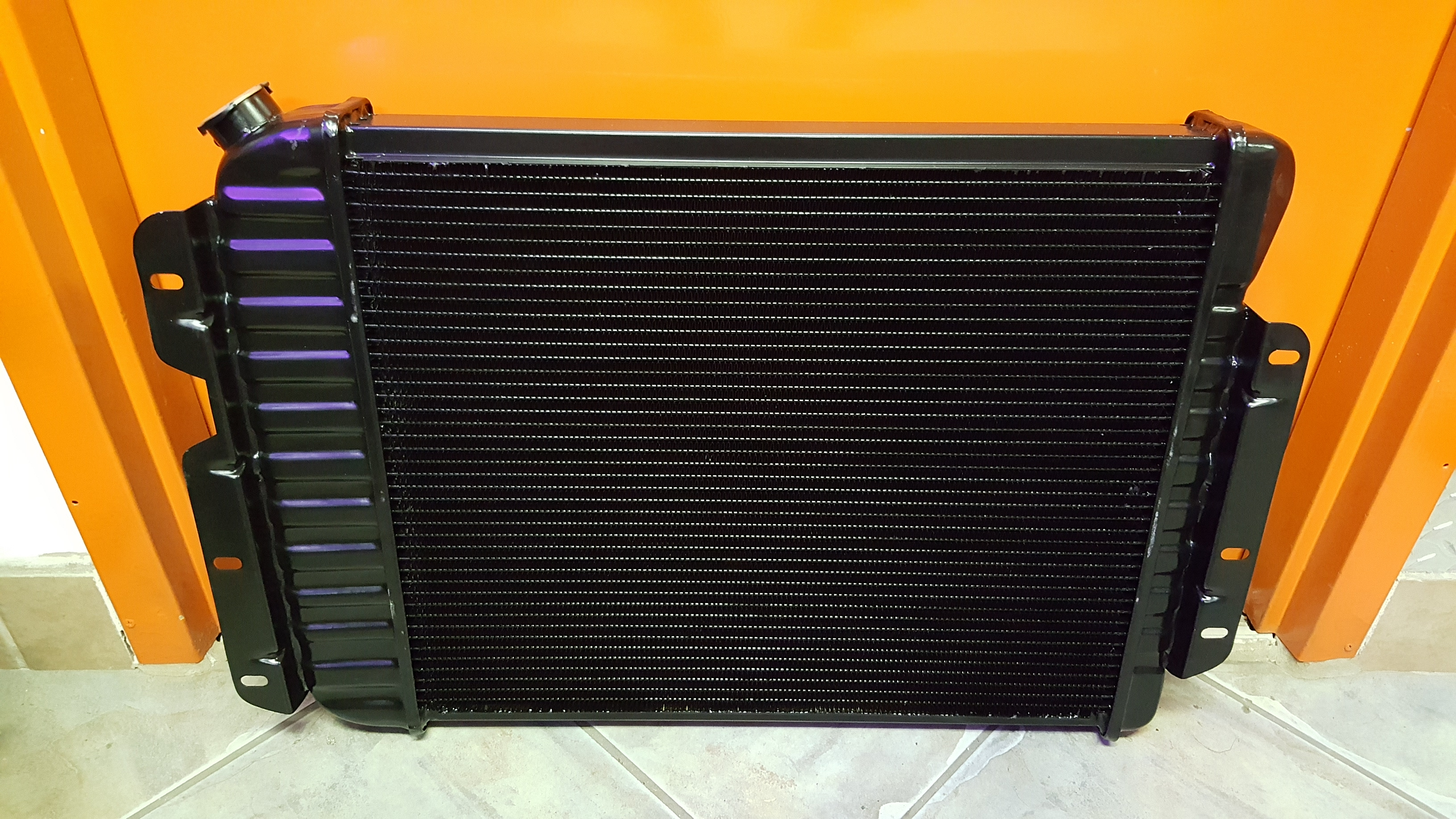 Copper Brass Camaro Radiator 02 01 2018 Motor Mission