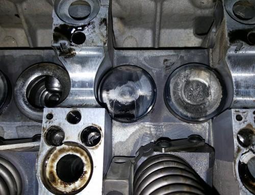 2006 VW Volkswagen Jetta TDI Cylinder Head and Valvetrain Damage