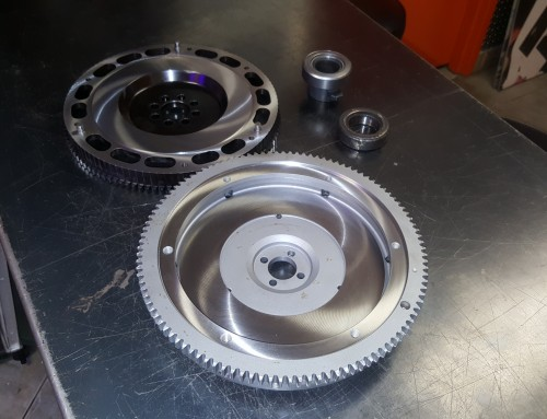 Flywheel Cleaning, Sandblasting, Machining, & Surfacing