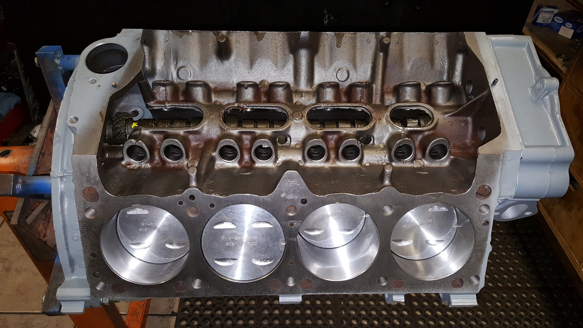 Ford MEL Lincoln 430 cubic inch V8 Engine Brass Water ...