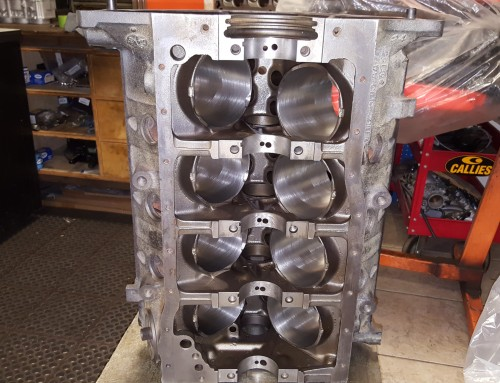 Ford 302 Engine Block Machine Work For A 347 Stroker Build