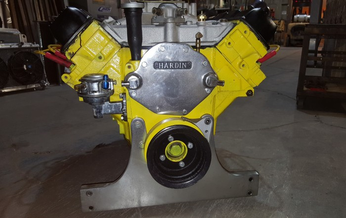 Machine shop motor mission machine and radiator for Outboard motor machine shop
