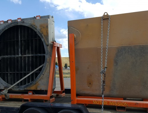 Caterpillar 793 Folded Core Radiator and Fuel Tank Pick Up From The Mine For Repair and Return R&R