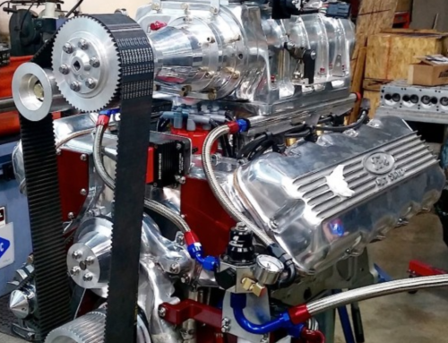 Blown Ford Cammer Engine X on Ford 427 Sohc Motor