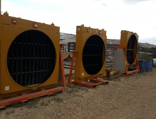 Caterpillar Mining Radiators & Fuel Tank Rebuilding & Repairing