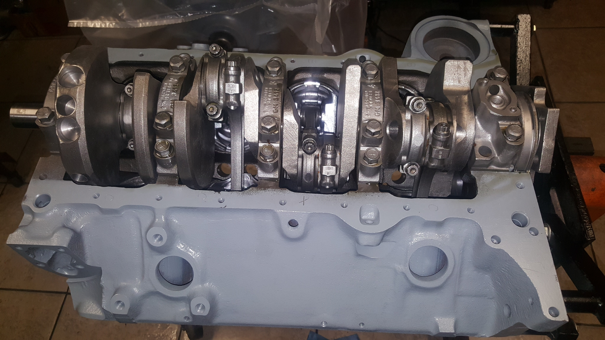 Chevy small block 383 stroker engine with eagle forged for Motor machine shop near me