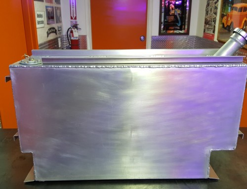 Custom Aluminum Gas Tank Build For A Rat Rod Project