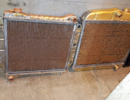 Custom High Efficiency Copper & Brass Jeep Wrangler and 1950's Chevy Radiator Builds