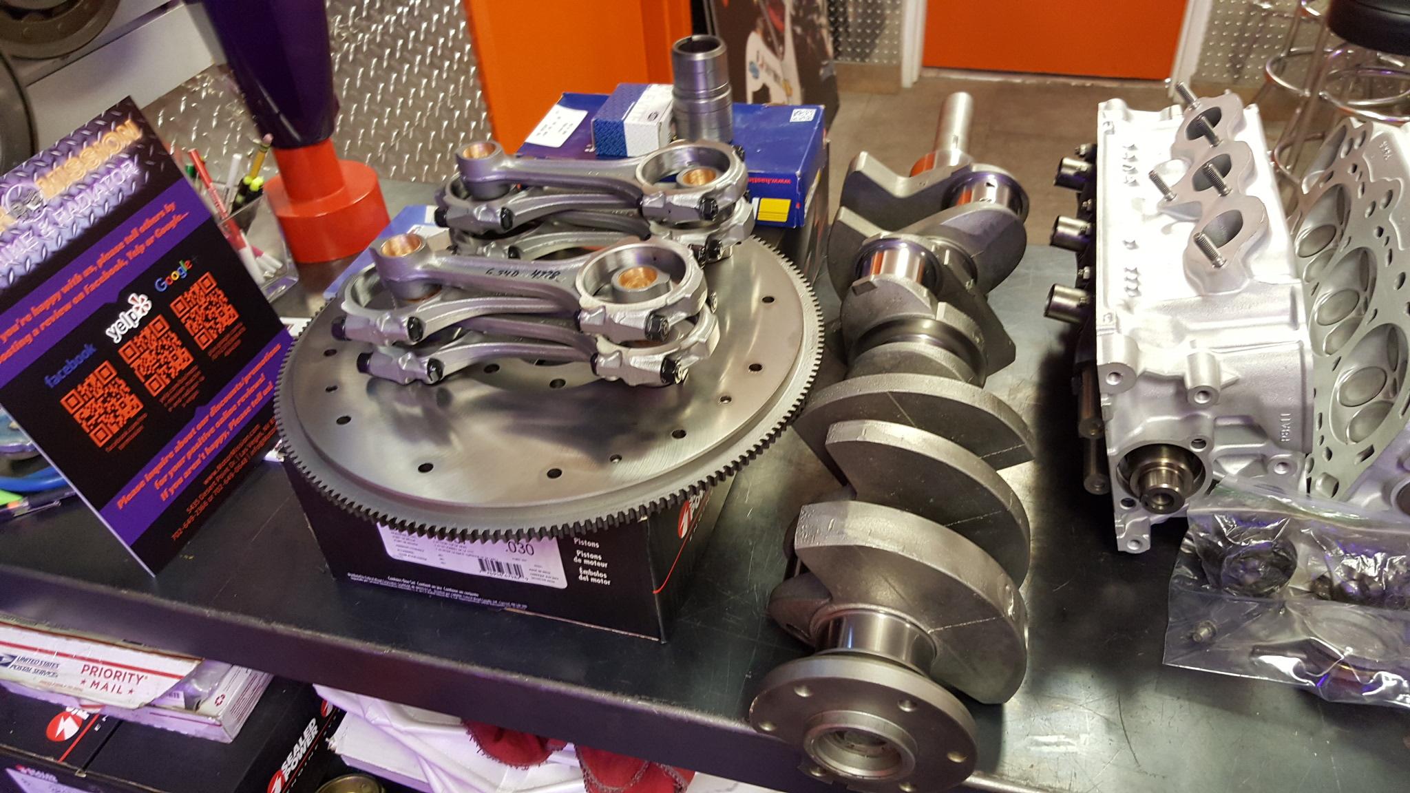 Ford 360 390 Fe V8 Engine Connecting Rods Crankshaft