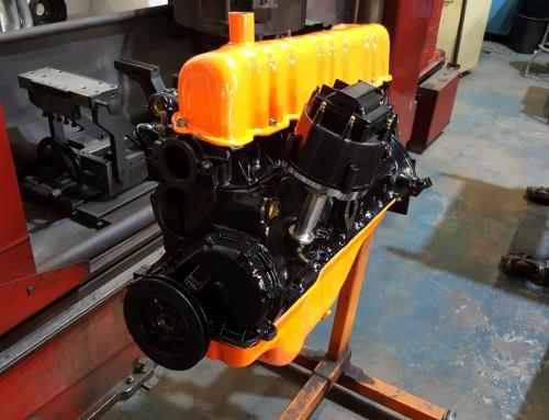 1964 Ford Falcon Wagon 170 Cubic Inch Inline Six Cylinder Engine Rebuild