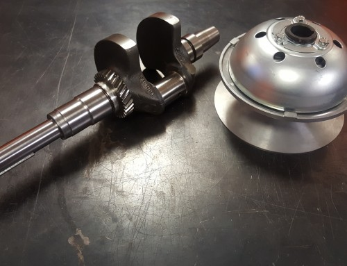 Golf Cart Crankshaft Snout Machining & Turning