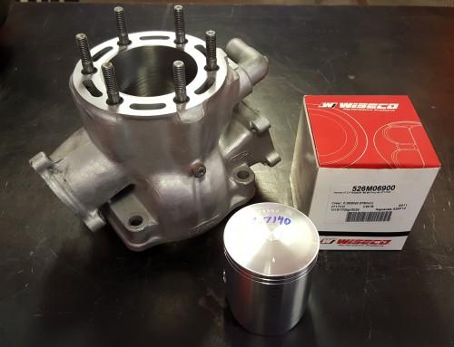 Honda ATV Motorcycle TRX250 Cylinder Jug Boring & Honing For Wiseco Forged Piston