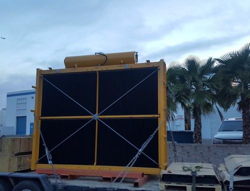 Komatsu 830E Haul Truck Mining Radiator Rebuilding