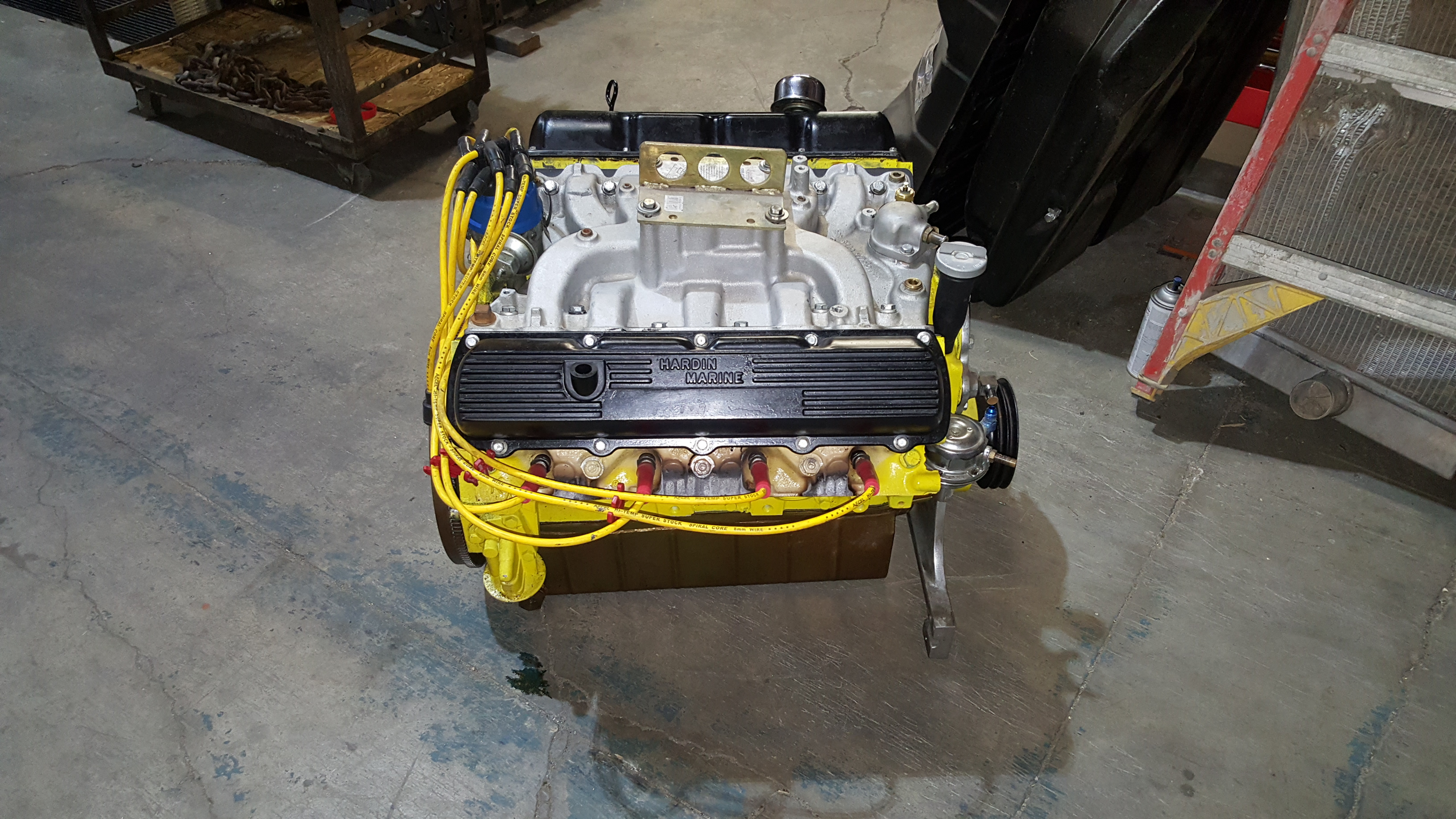 455 olds v8 marine engine rebuilding for a boat motor for Outboard motor machine shop