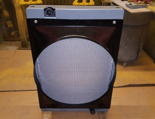 Diesel Pusher RV Motorhome Radiator Recore Due To Corrosion