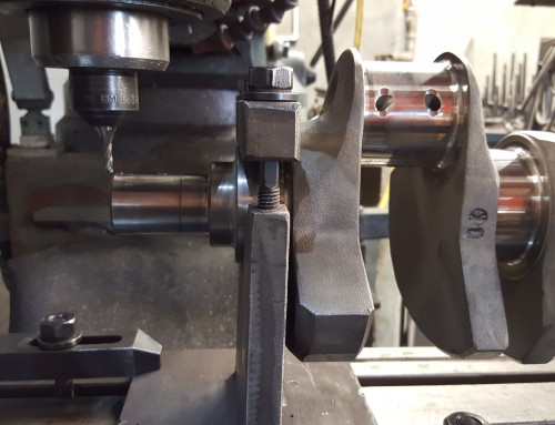 Crankshaft Snout & Balancer Machining For Quarter Woodruff Key For Blower Hub