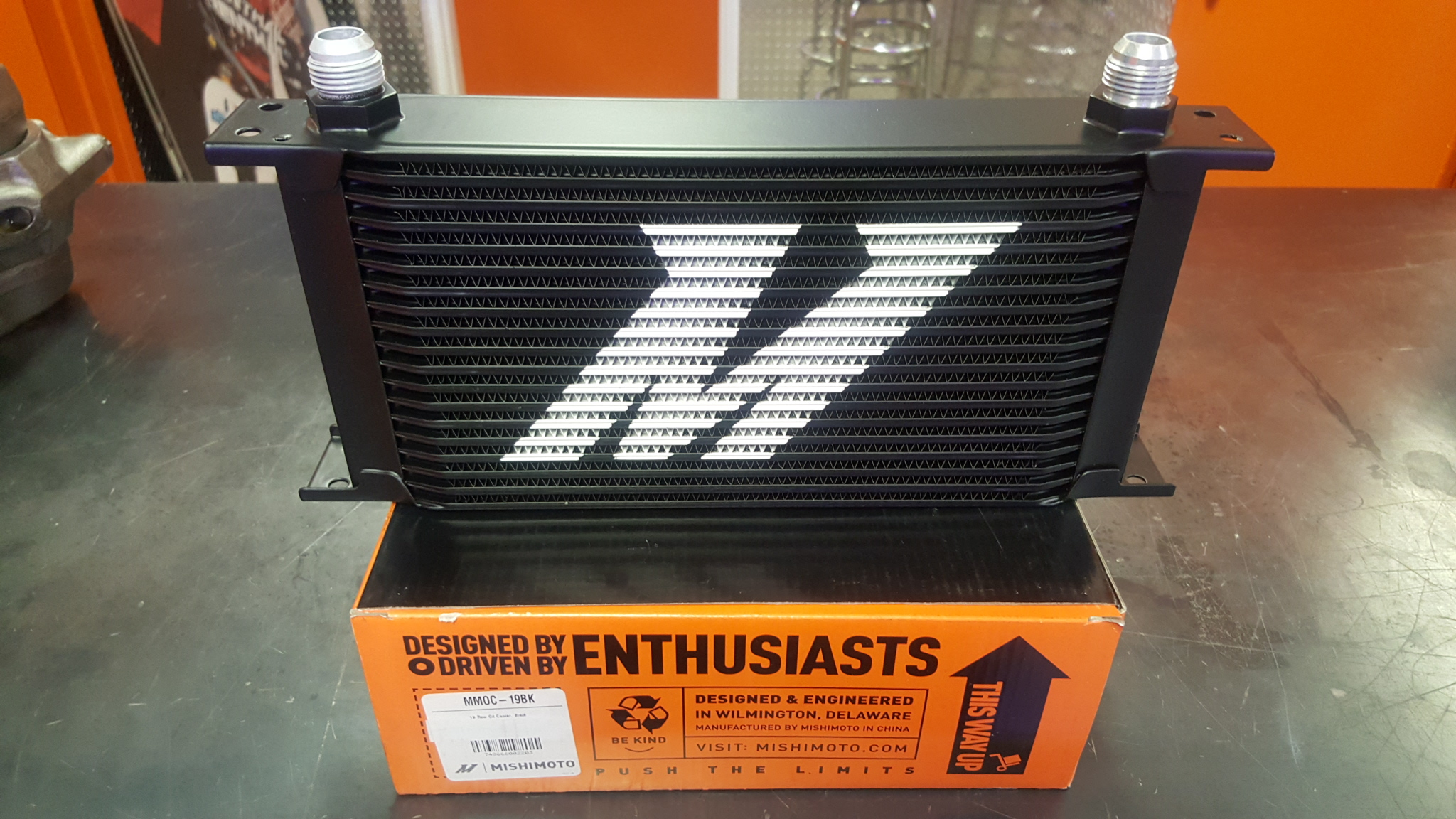 Mishimoto High Performance Aluminum External Oil Cooler