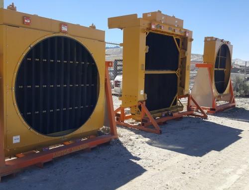 Caterpillar Mining Equipment Radiators Rebuilt and Overhauled By Motor Mission Machine and Radiator
