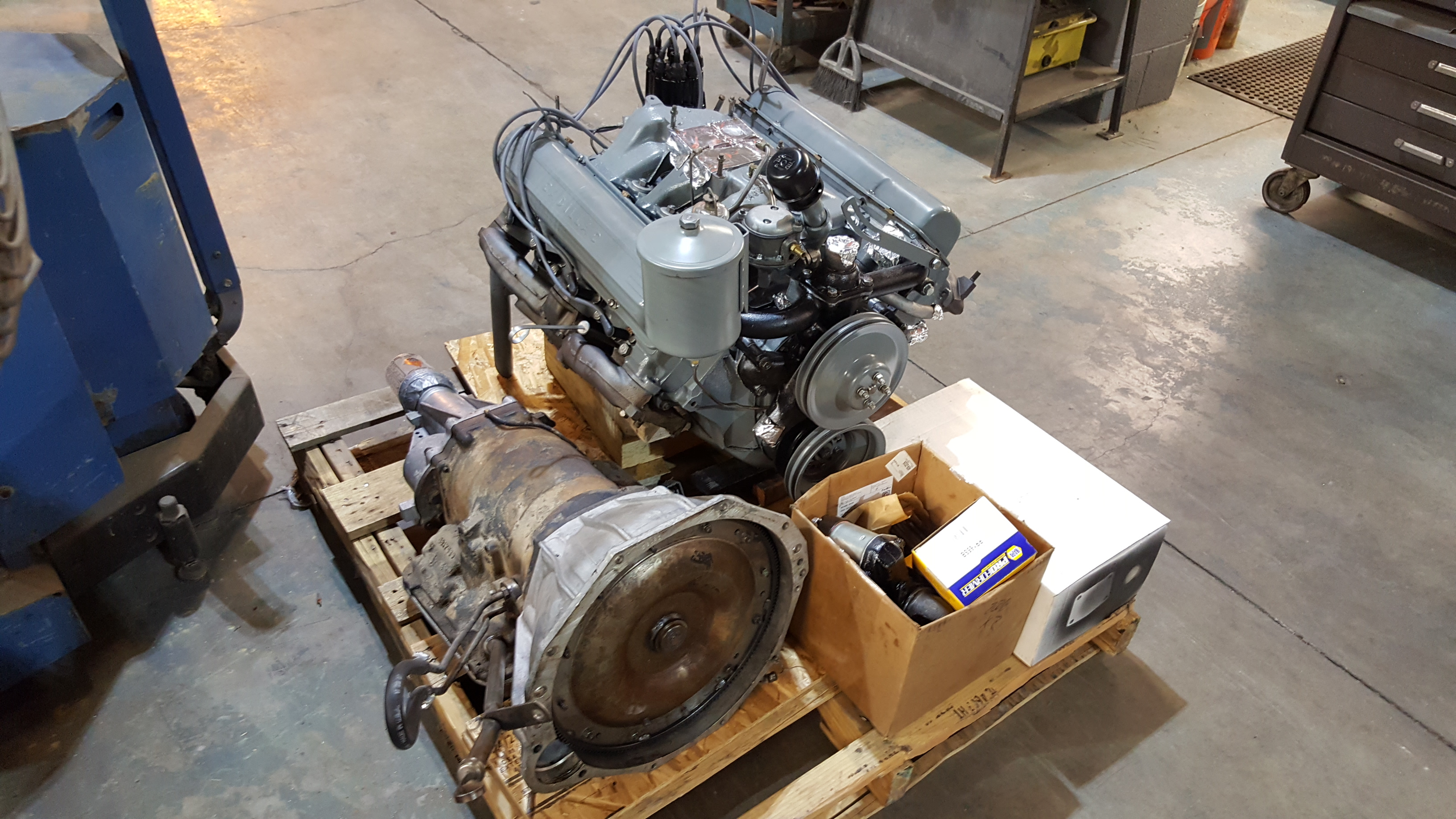 1957 Cadillac 365 V8 Engine Rebuild and Restoration - Motor Mission Machine and Radiator