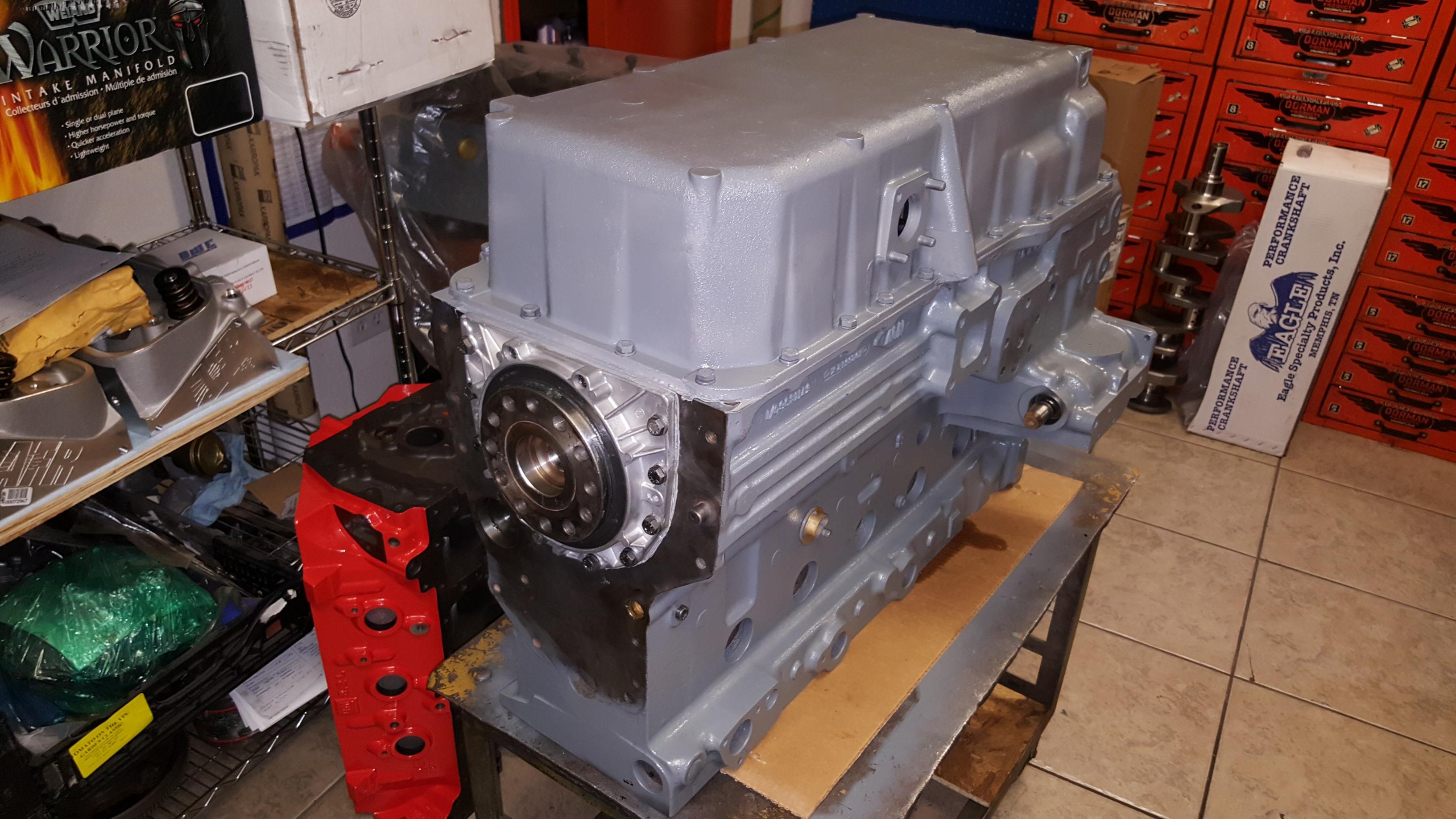 Perkins Inline Six Cylinder Industrial Diesel Engine Repair