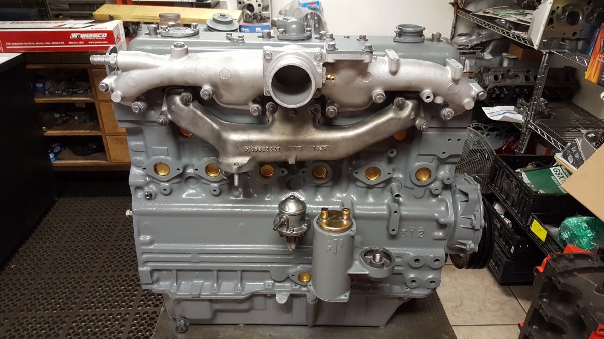 Perkins Inline Six Cylinder Industrial Diesel Engine Repair & Rebuilding - Motor Mission Machine ...
