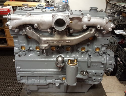Perkins Inline Six Cylinder Industrial Diesel Engine Repair & Rebuilding