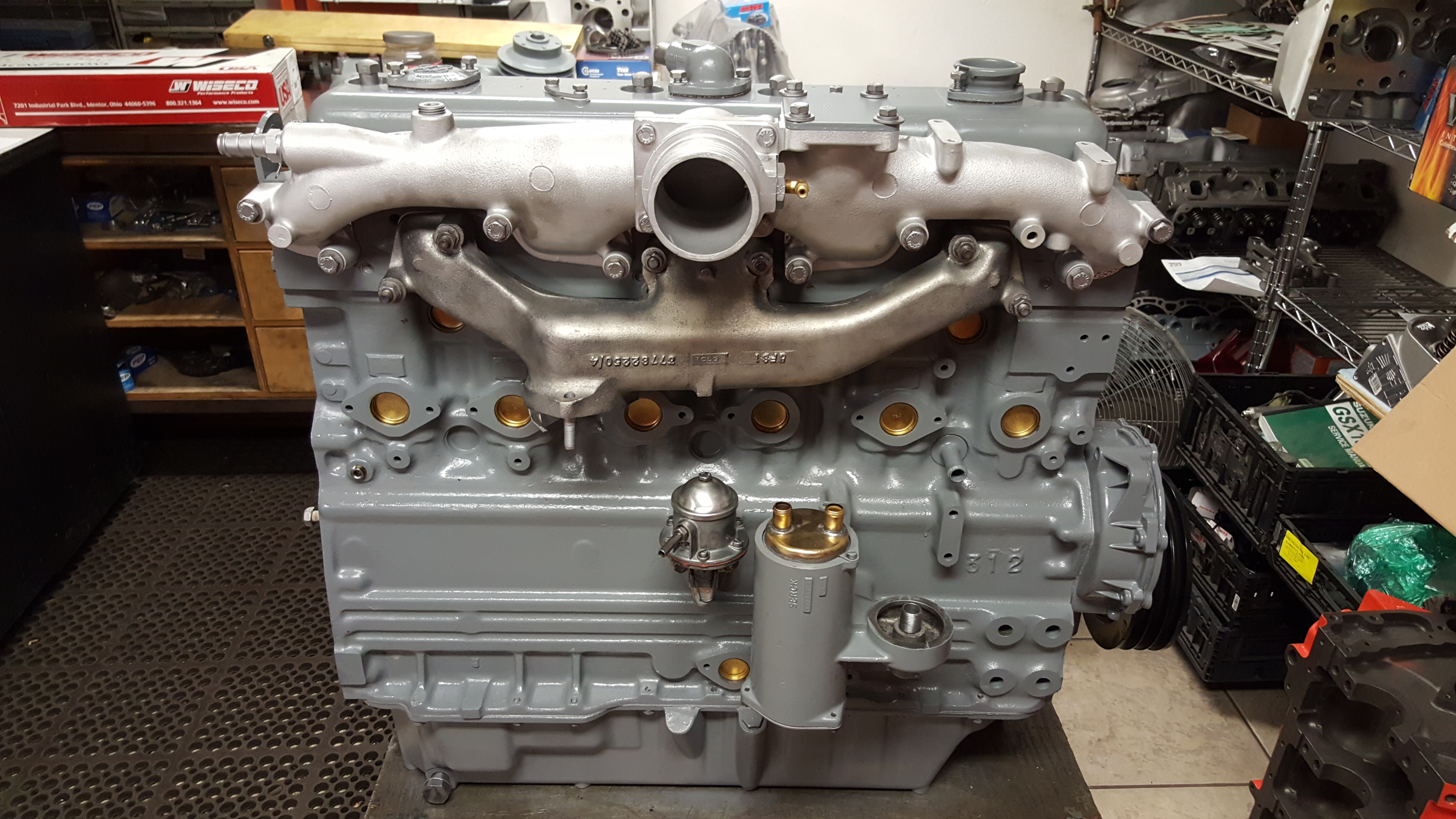 Perkins Inline Six Cylinder Industrial Diesel Engine