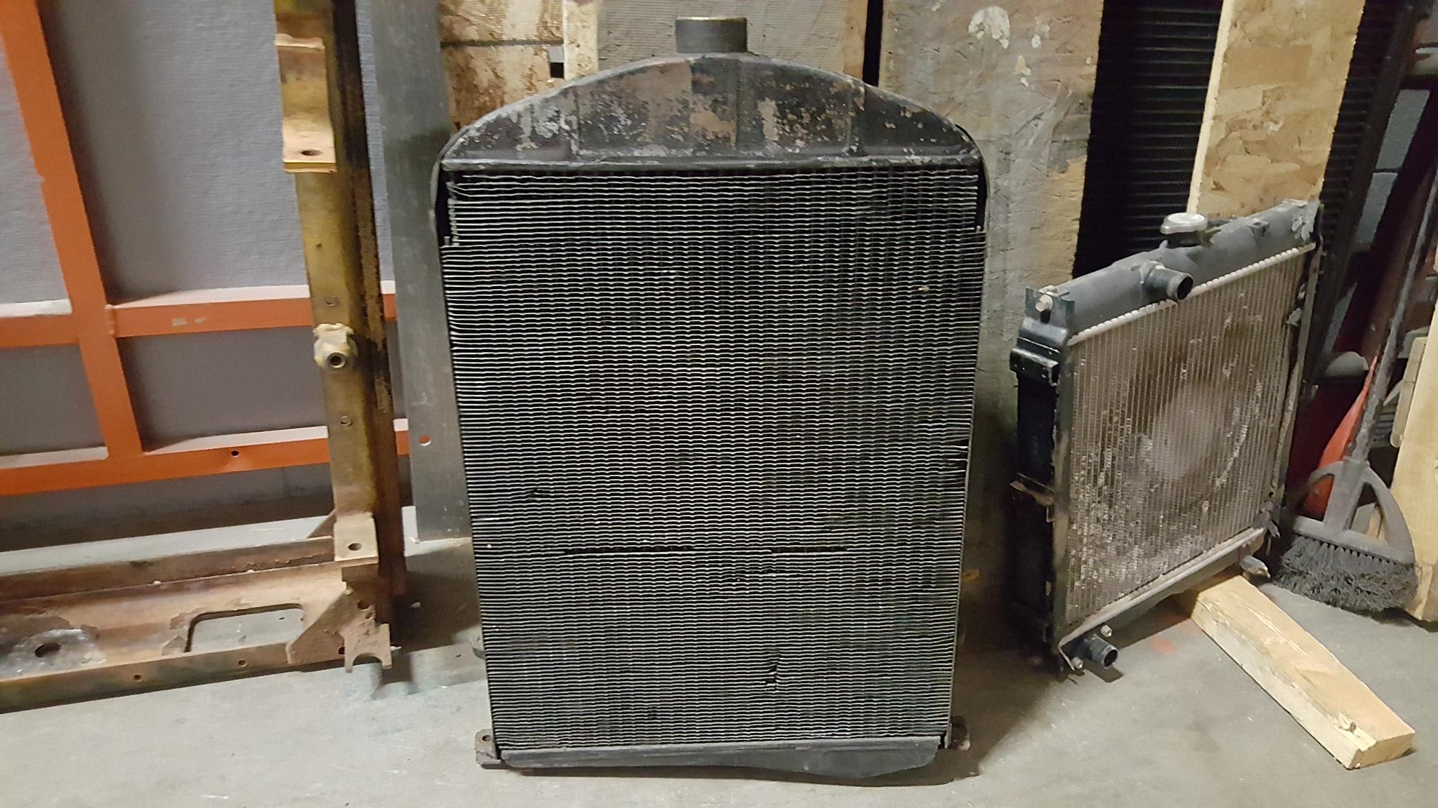 model a ford radiator repair