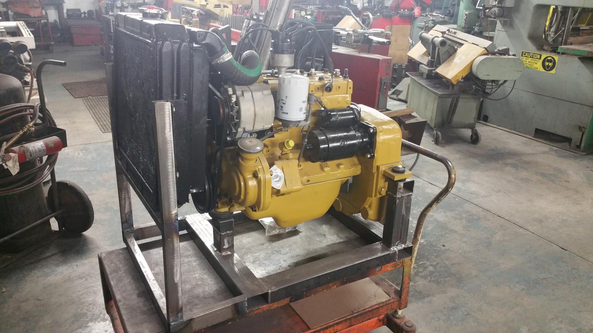 continental  flathead  cylinder engine machining rebuild  motor mission machine