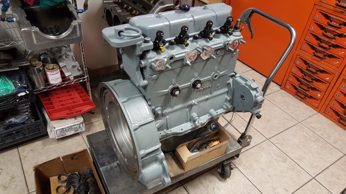 Hercules White 3 7 Liter 4 Cylinder Diesel Engine Machine