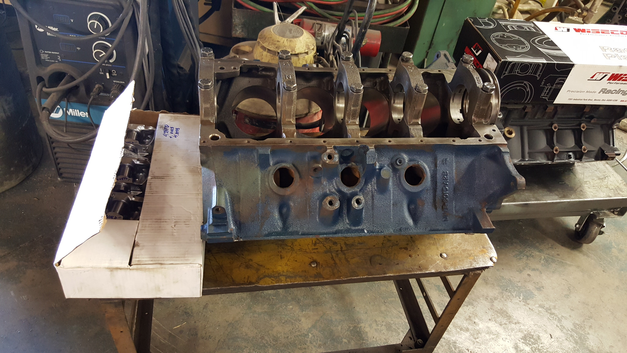 429-460 Ford and GM LS V8 Engine Block Cylinder Boring and