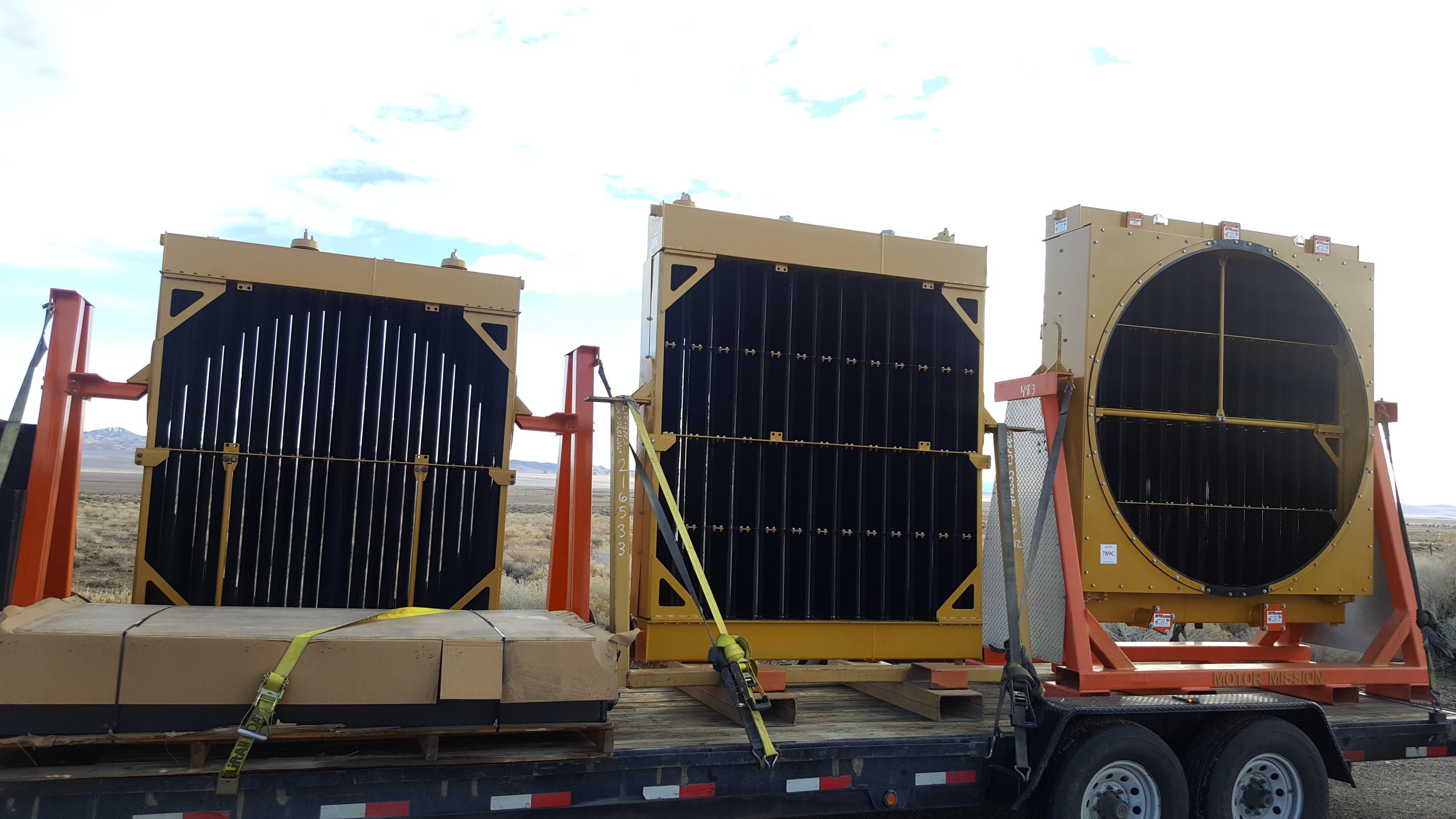 Caterpillar Mining Equipment Haul Truck Folded Core ...