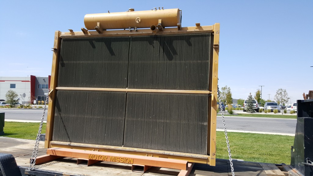 Mining Haul Truck Radiator Equipment Repairing Rebuilding