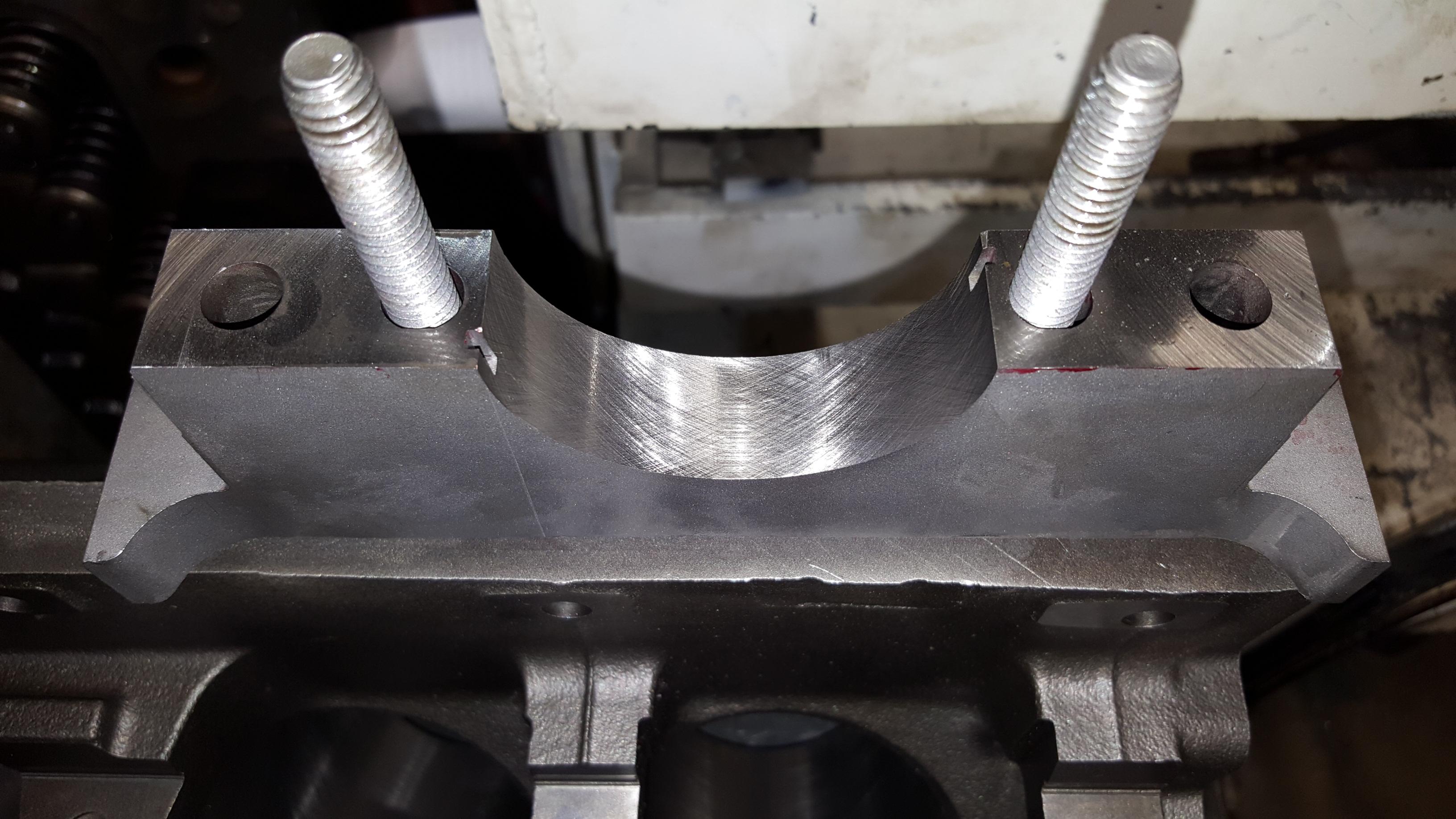 Chevy Chevrolet GM LS V8 Performance Engine Machine Work and Machining - Motor Mission Machine ...