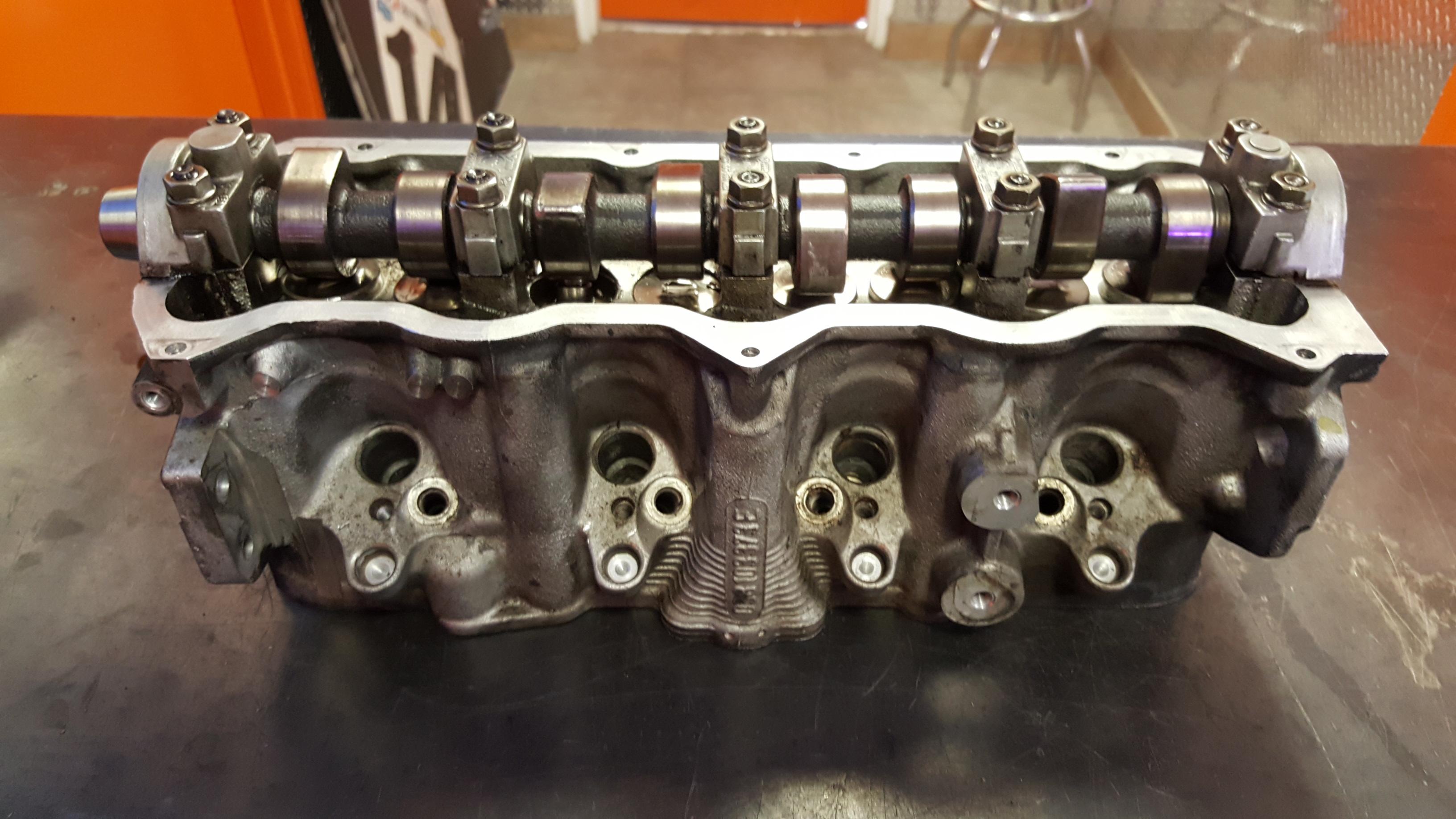 Volkswagen Aluminum Cylinder Head Valve Job and Surface
