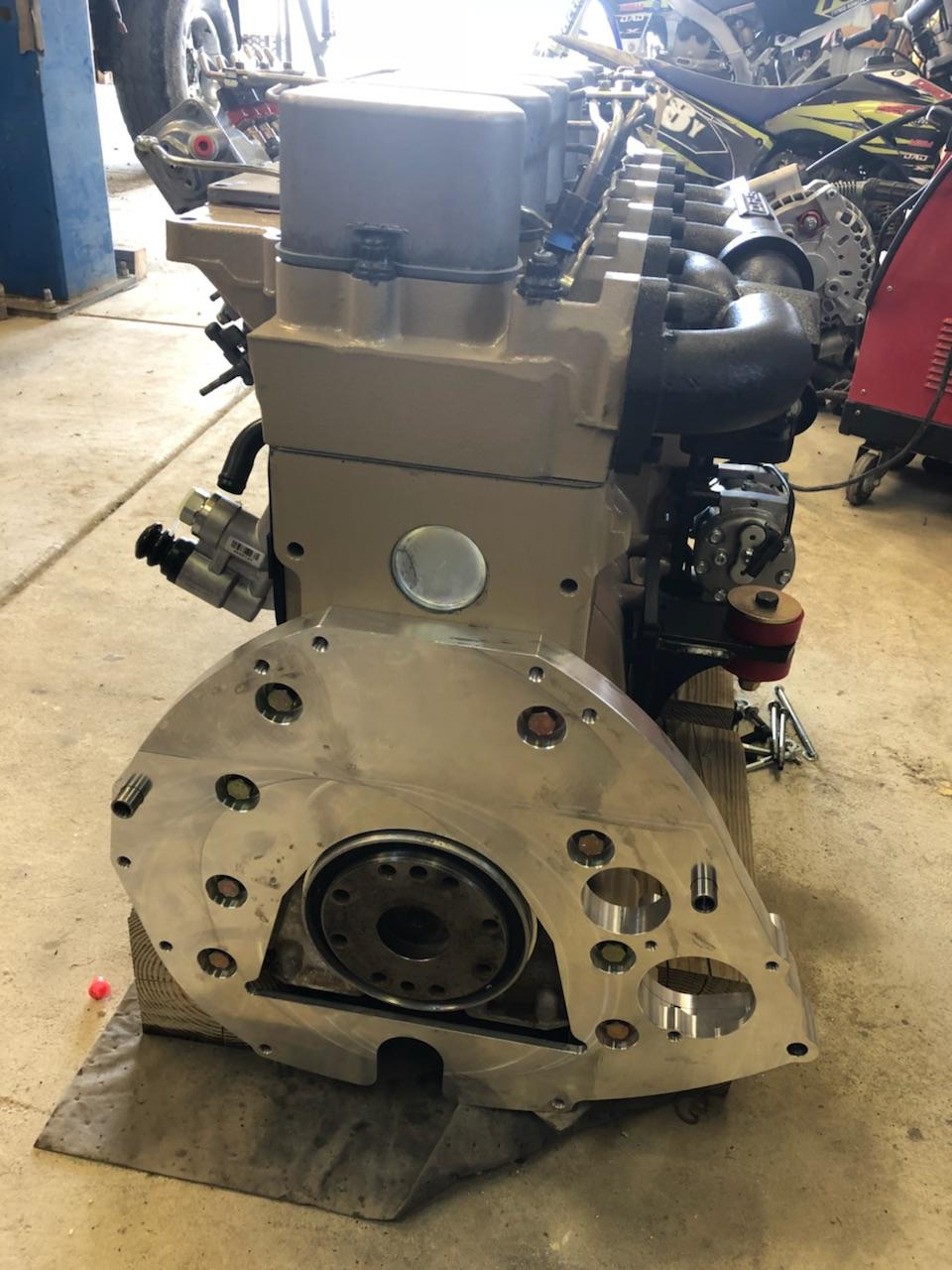 5 9 Cummins Diesel Engine Build With Ford Truck Adapter Kit