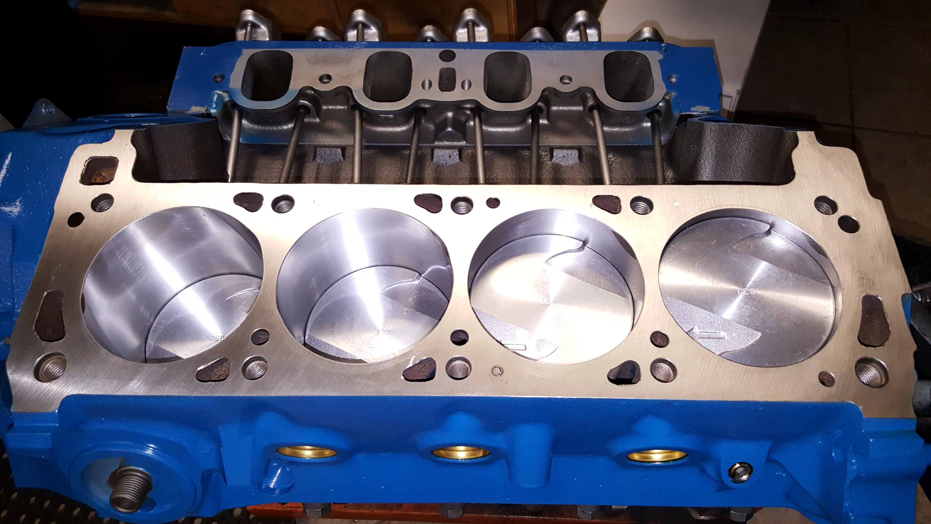 Ford 351C Cleveland V8 Engine Machining and Complete Rebuild