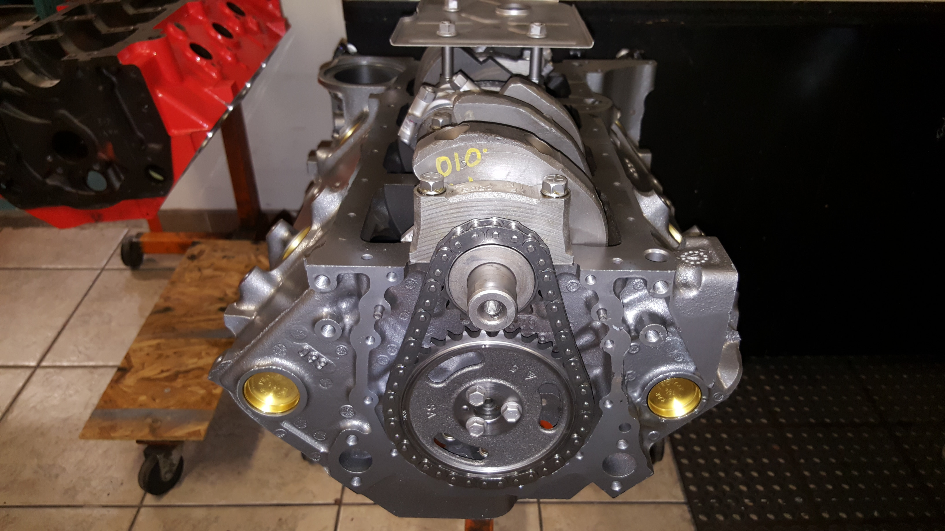 350 Chevy Small Block Engine Rebuilding - Motor Mission