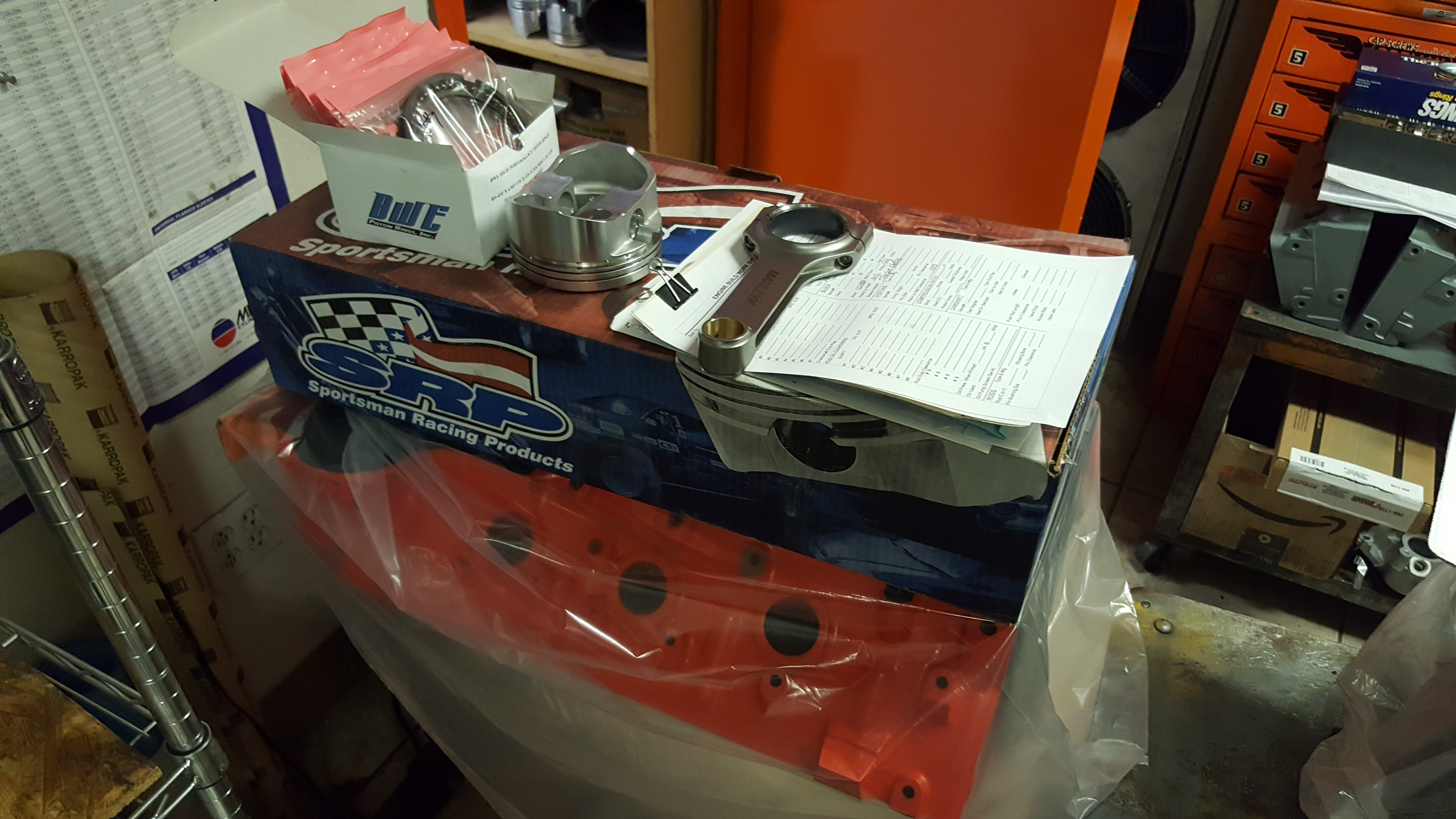 High Performance Big Inch Big Block Chevy Engines and Parts