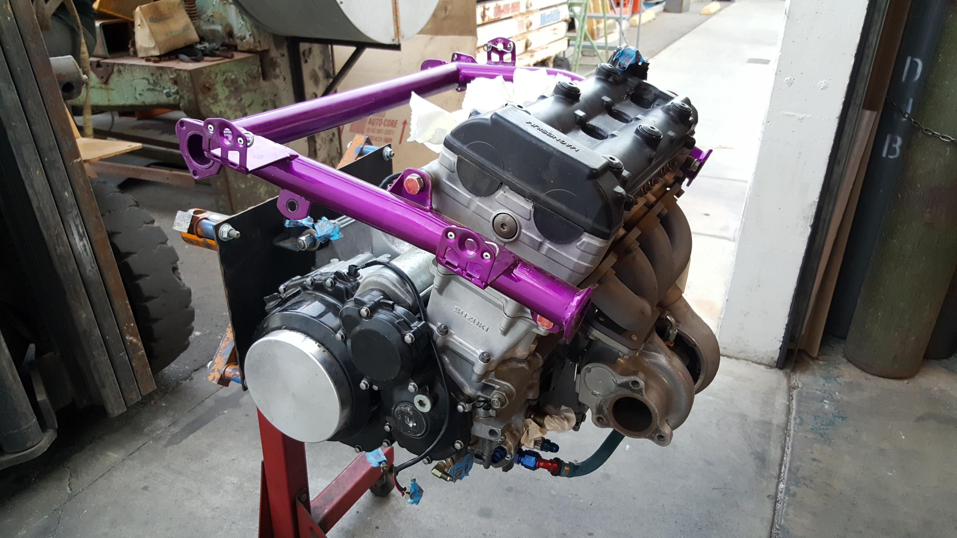 Turbocharged 1300cc Suzuki Hayabusa Sandrail Engine ...