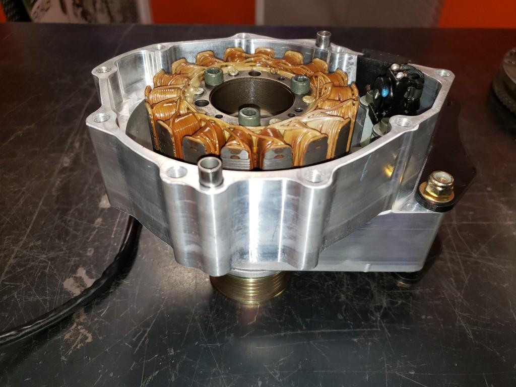 Suzuki Hayabusa Motorcycle Engine Alternator Drive And