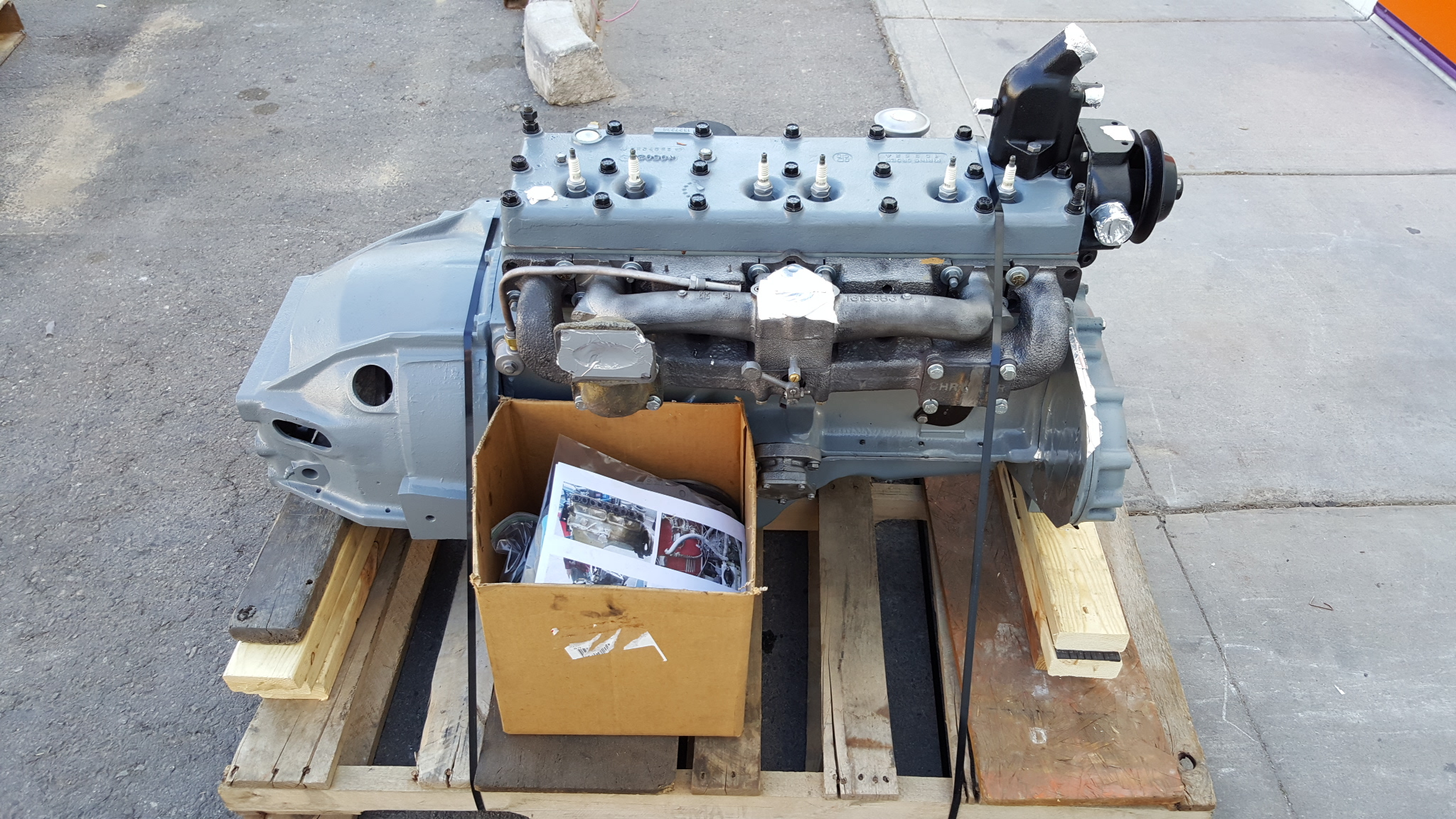4 3 Liter 265 Cubic Inch Dodge Chrysler Plymouth Inline Six