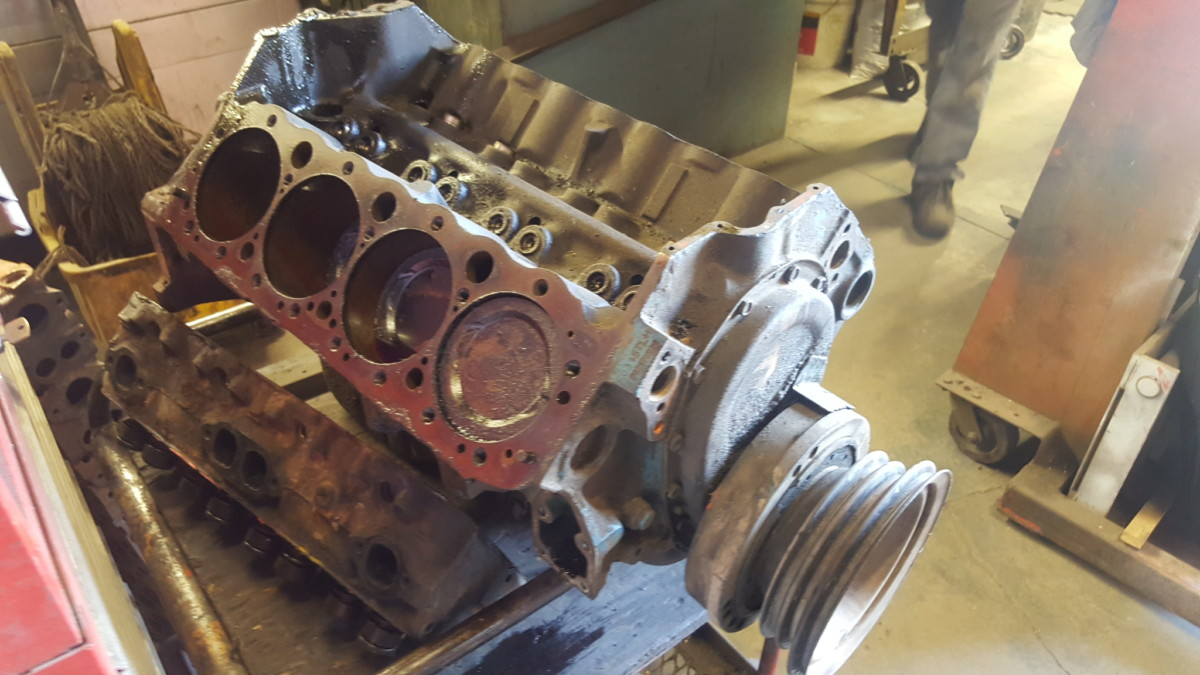 400 Small Block Chevy V8 Engine Machine Work & Rebuilding At Las Vegas Machine Shop - Motor ...