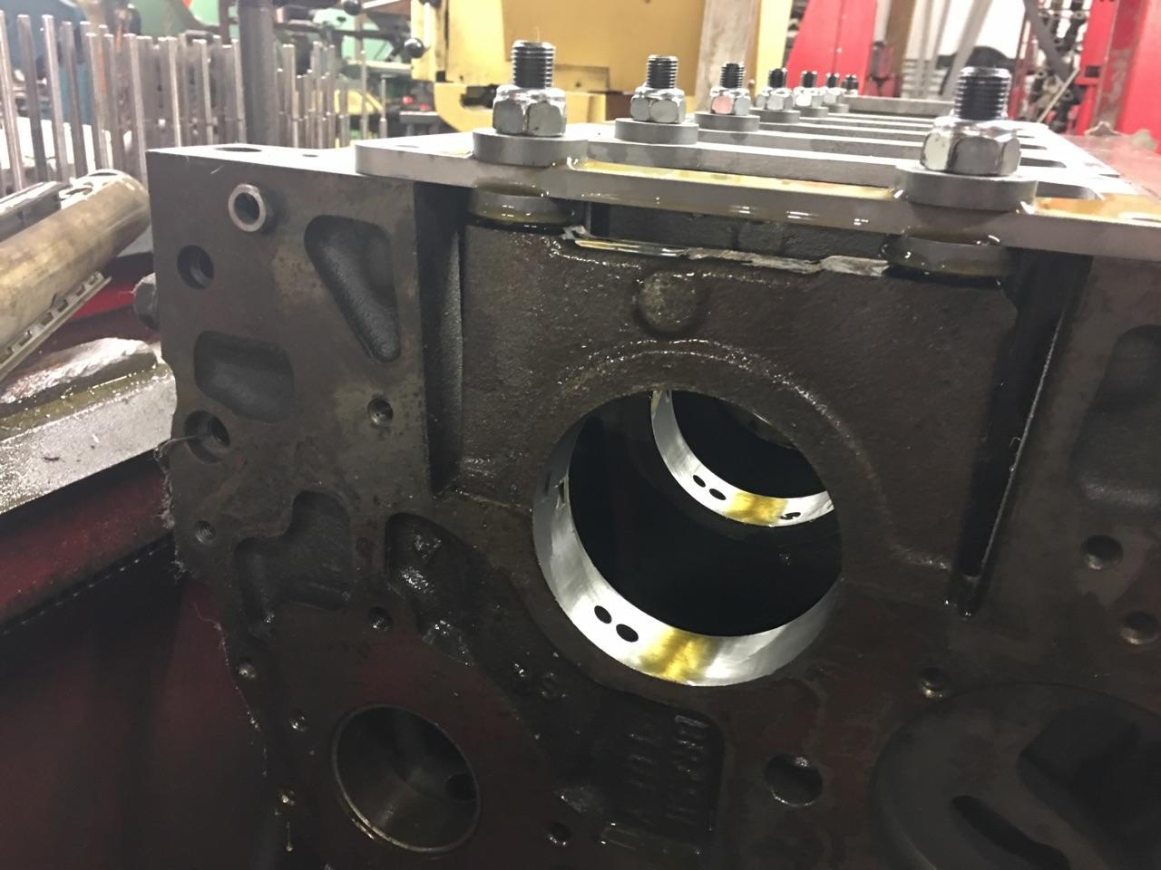 dodge truck   series cummins diesel engine cylinder block  bore motor mission machine