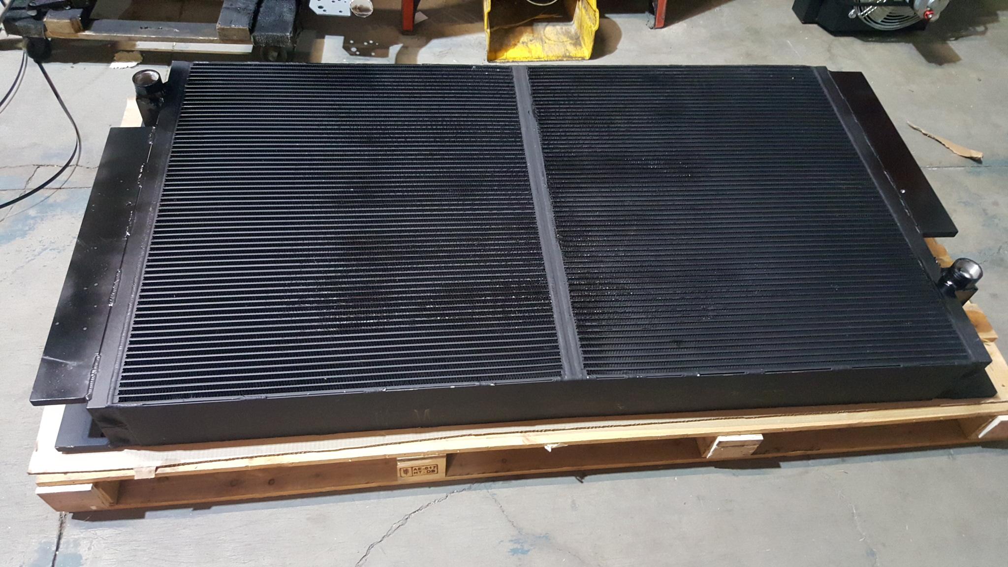 Atlas copco dml drill aluminum compressor oil cooler for Atlas car aluminium