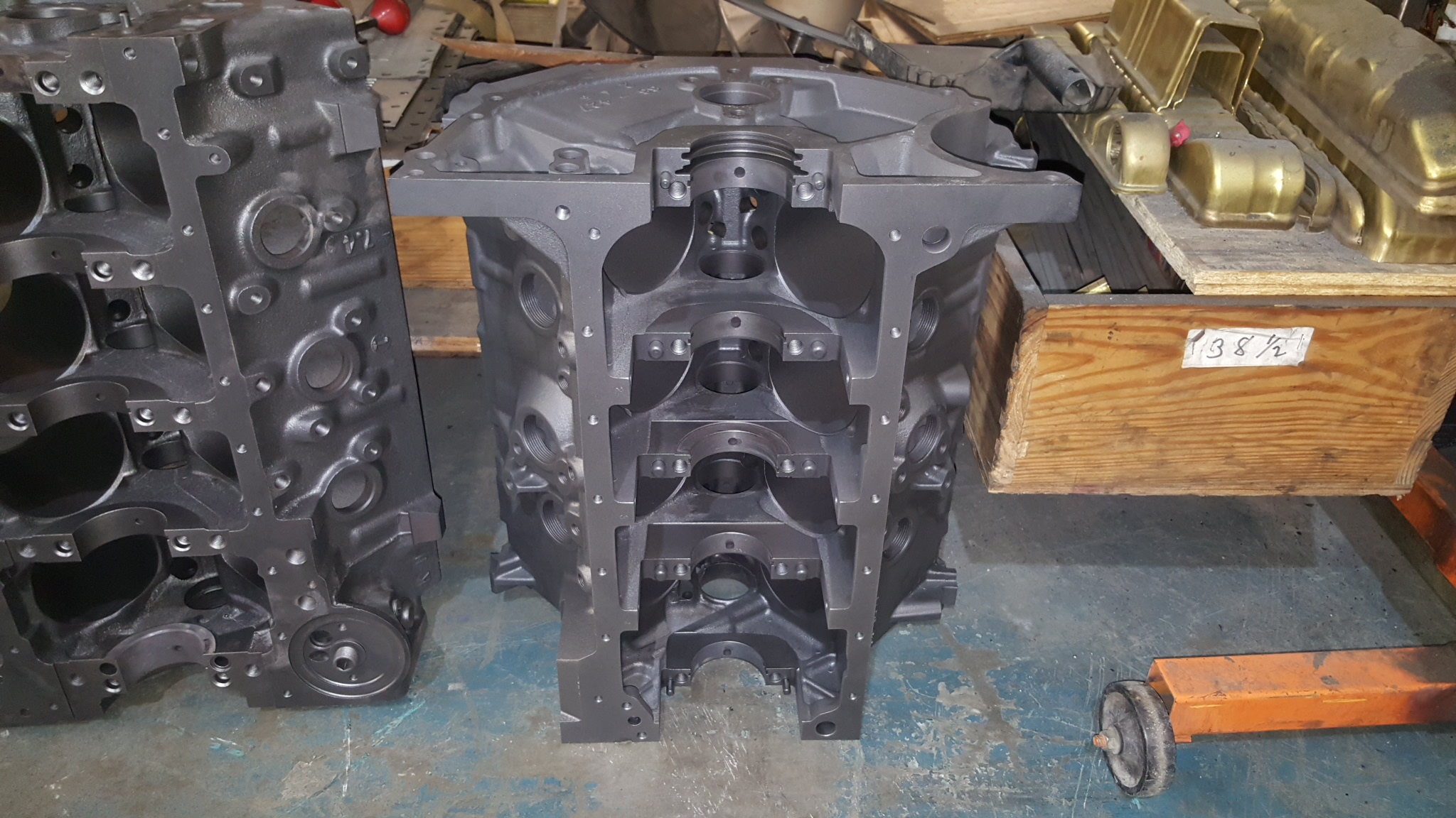 Big Block Chevy & FE Ford Engine Blocks For High Performance Stroker
